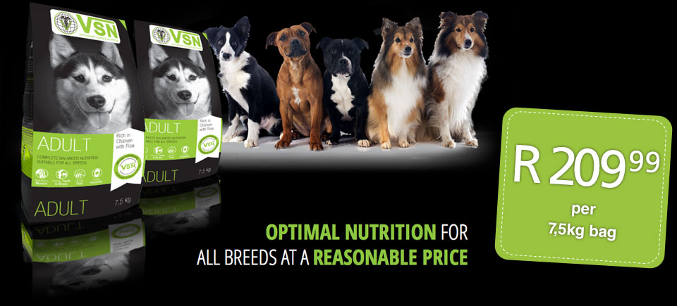 Optimal Nutritrion for all breeds